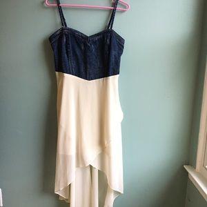 Double Zero denim & flowy dress 💠